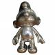 Figurine de collection Puppy Les Schtroumpfs: Schtroumpf articulé Argent (2017)
