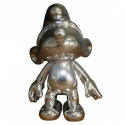 Collectible Figure Puppy The Smurfs: The articulated Silver Smurf (2017)