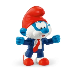 The Smurfs Schleich® Figure - Papa Smurf football coach (20804)