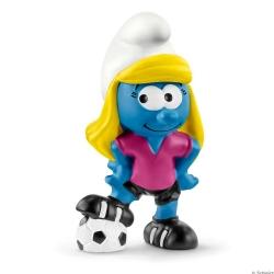 The Smurfs Schleich® Figure - Football Smurfette (20805)