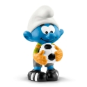 Figura Schleich® Los Pitufos - Pitufo futbolista, portero (20808)