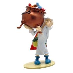 Figura de colección Pixi Astérix Panoramix llevando el caldero 2346 (2018)
