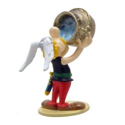 Figura de colección Pixi Astérix bebiendo en el caldero 2342 (2018)