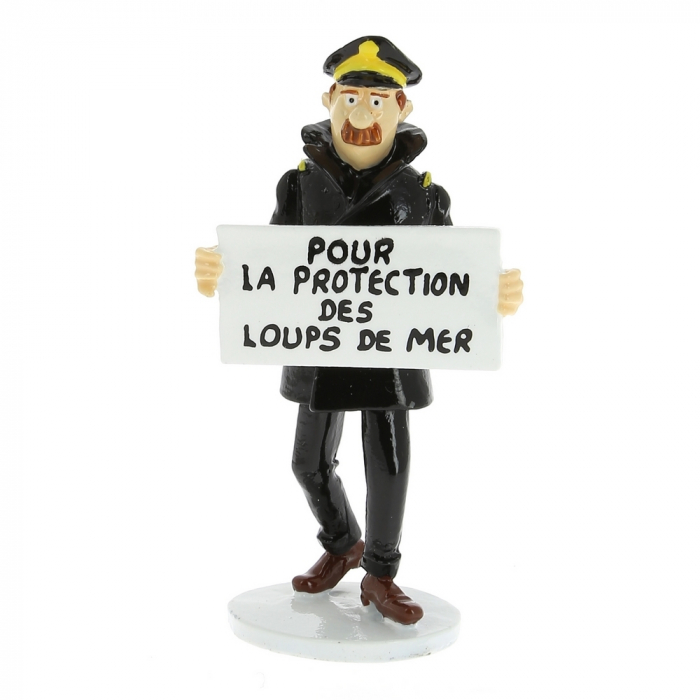 Collectible figure Tintin The Captain Chester Carte de voeux 1972 (46509)