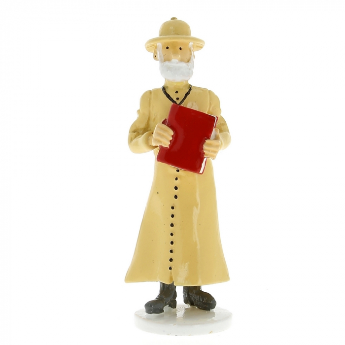 Collectible figure Tintin The Missionary Priest Carte de voeux 1972 (46510)