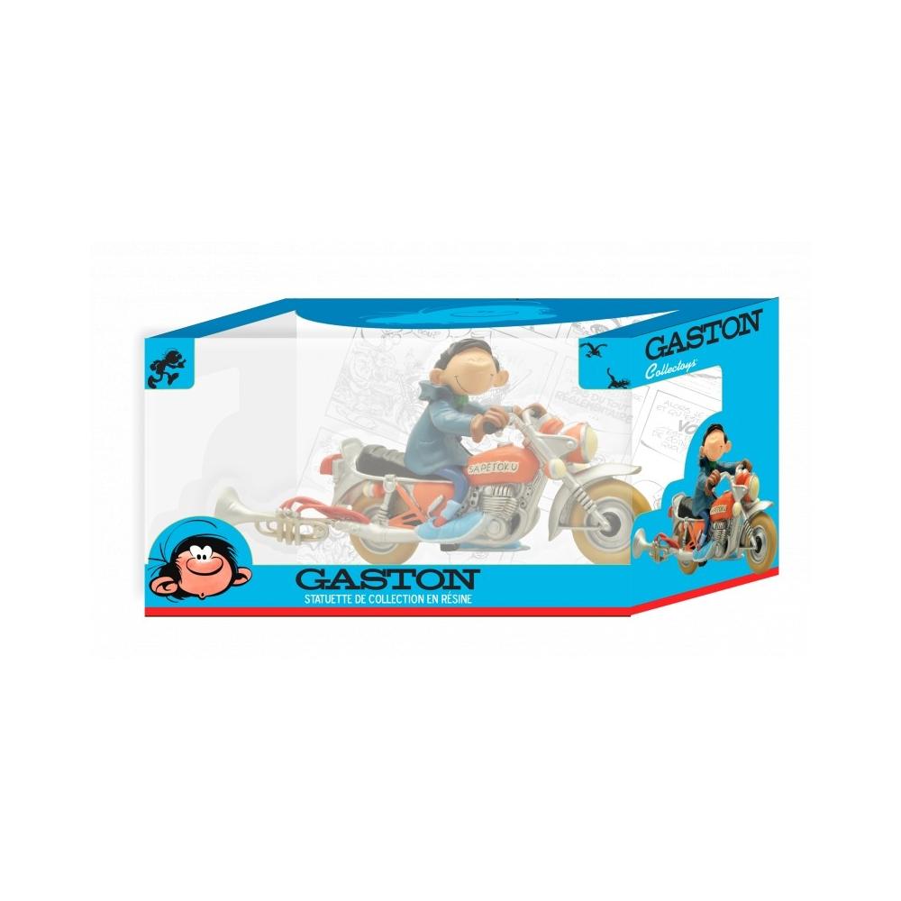 Gaston moto sapetoku Gaston Lagaffe collectoys