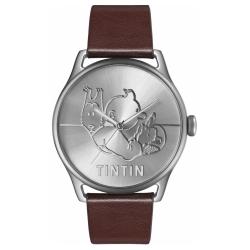 Montre en cuir Moulinsart Ice-Watch Tintin Classic Soviets L 82433 (2018)