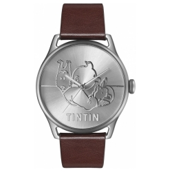 Leather Watch Moulinsart Ice-Watch Tintin Classic Soviets L 82433 (2018)