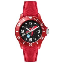 Montre silicone rouge Moulinsart Ice-Watch Tintin Sport Lune S 82436 (2018)