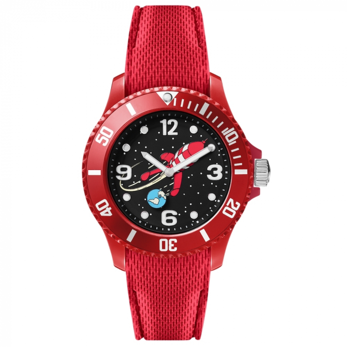 Silicone Red Watch Moulinsart Ice-Watch Tintin Sport Moon S 82436 (2018)