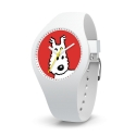 Reloj de silicona Moulinsart Ice-Watch Tintín Sport Skin Milú S 82443 (2018)