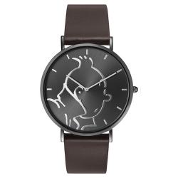Montre en cuir Moulinsart Ice-Watch Tintin en action Classic M 82441 (2018)