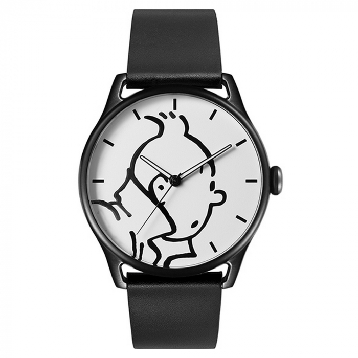 Leather Watch Moulinsart Ice-Watch Tintin in action Classic M 82439 (2018)