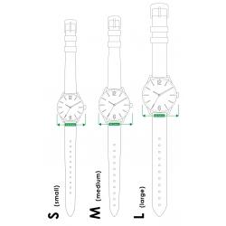 Montre en cuir Moulinsart Ice-Watch Tintin en action Classic S 82440 (2018)