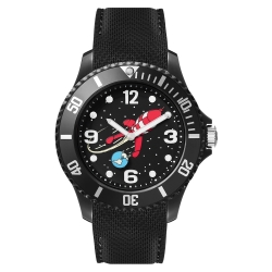 Montre silicone noire Moulinsart Ice-Watch Tintin Sport Lune L 82437 (2018)