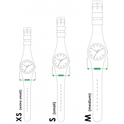 Silicone Watch Moulinsart Ice-Watch Tintin Sport Skin Snowy S 82443 (2018)