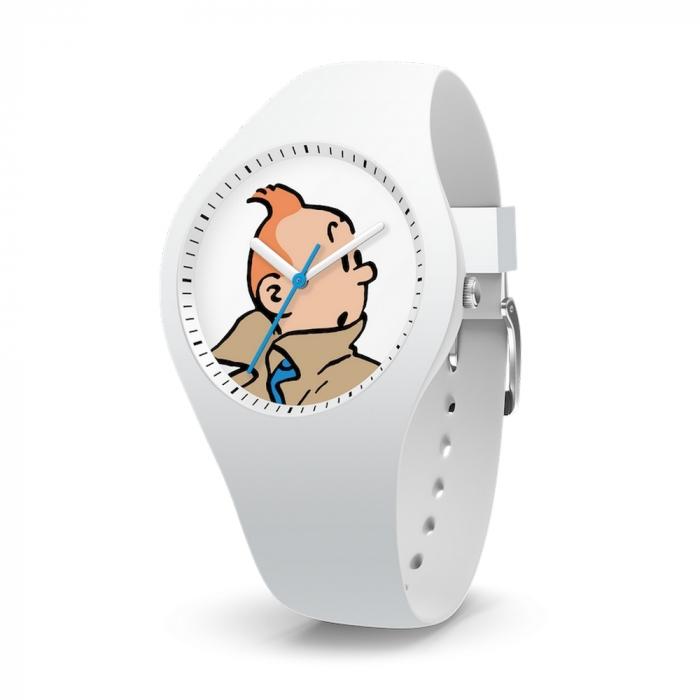 Reloj de silicona Moulinsart Ice-Watch Tintín Sport Skin S 82444 (2018)