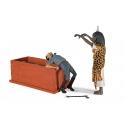 Escena de Blake y Mortimer Que ton nom ne soit plus Figures et Vous FVV05 (2012)