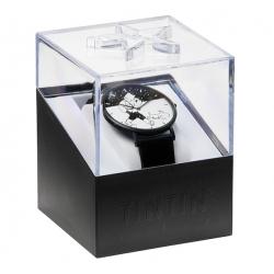 Reloj de cuero Moulinsart Ice-Watch Tintín en acción Classic M 82439 (2018)