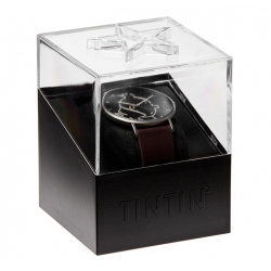 Leather Watch Moulinsart Ice-Watch Tintin in action Classic M 82441 (2018)