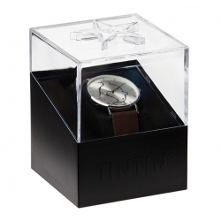 Leather Watch Moulinsart Ice-Watch Tintin in action Classic S 82440 (2018)