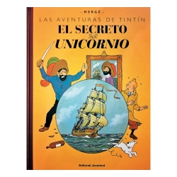 Album de Tintin: El secreto del Unicornio Edition Macro fac-similé couleur