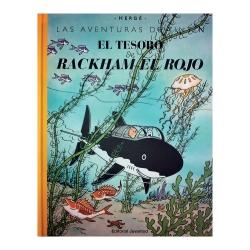 Album de Tintin: El tesoro de Rackham el Rojo Edition Macro fac-similé couleur
