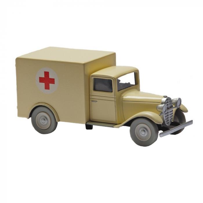 Collectible car Tintin The Ambulance of the Asylum Nº56 29519 (2013)