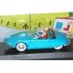Coche de colección Atlas Turbot-Rhino 1 azul Spirou y Fantasio 1/43 (2006)