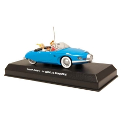 Voiture de collection Atlas Turbot-Rhino 1 bleue Spirou et Fantasio 1/43 (2006)