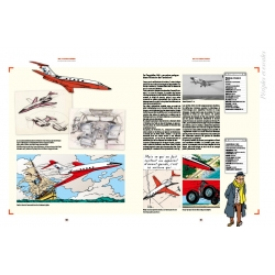 Hergé, éditions Moulinsart Tintin and the planes 24396 FR (2018)