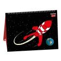 2019 Desktop Calendar Tintin The Moon Adventure 15x21cm (24400)