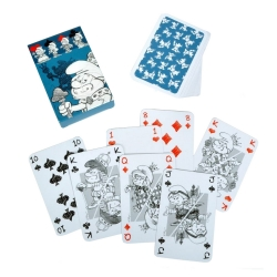 Juego de 54 cartas de baraja Puppy Los Pitufos (755211)