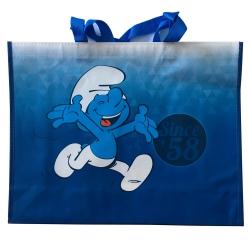 Bolsa impermeable azul Puppy Los Pitufos Born in 58 31x12x40cm (755344)