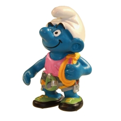 The Smurfs Schleich® Figure - The Climber Smurf 1999 (21016)