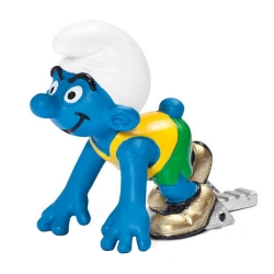 The Smurfs Schleich® Figure - The Sprinter Smurf (20741)