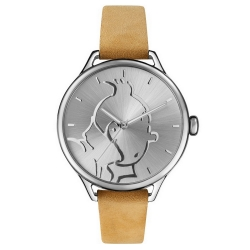 Montre en cuir Moulinsart Ice-Watch Tintin en action Classic M 82438 (2018)