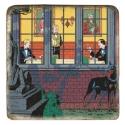 Placa de mármol colección Blake y Mortimer El Caso Francis Blake (20x20cm)