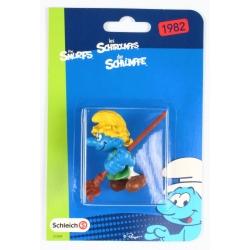 The Smurfs Schleich® Figure - The Gardener Smurf with rake (21009)