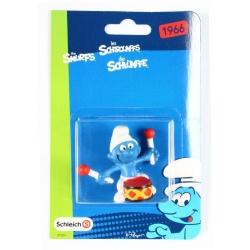 The Smurfs Schleich® Figure - The Smurf Drummer (21004)