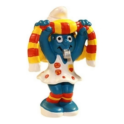 The Smurfs Schleich® Figure - Fan Smurfette 2003 (21020)