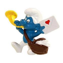 The Smurfs Schleich® Figure - The Postman Smurf 1978 (21005)