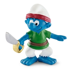 The Smurfs Schleich® Figure - The Ship's Freebooter Pirate Smurf (20767)