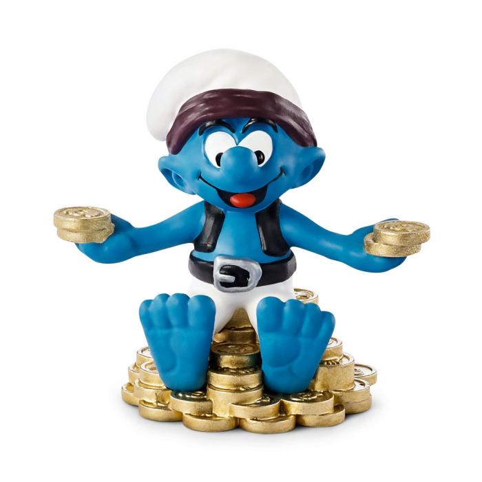 The Smurfs Schleich® Figure - The Ship's corsair Pirate Smurf (20762)