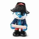 Figura Schleich® Los Pitufos - Papá Pitufo capitán pirata (20760)