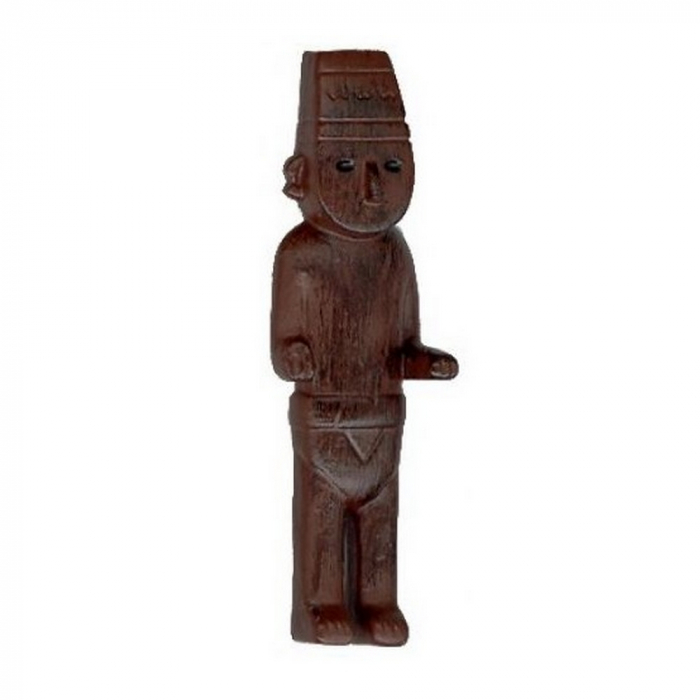 Collectible figurine Tintin The Fetish Arumbaya 7cm Moulinsart 42398 (2004)