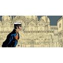 Póster cartel offset Corto Maltés, Historia (100x50cm)