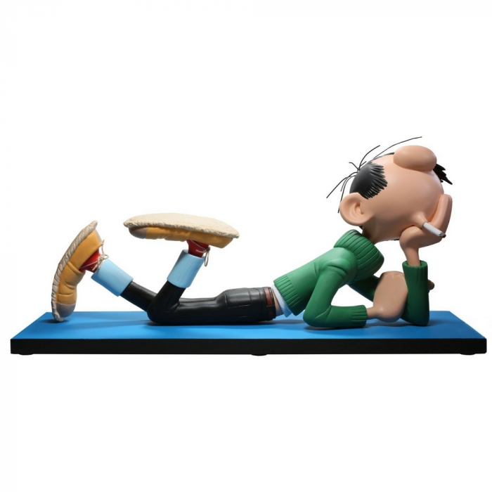 Collectible figure Pronea Gaston Lagaffe lying down Gaston 0 (2018)