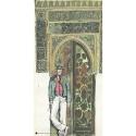 Póster cartel offset Corto Maltés, Mauresque (25x50cm)
