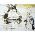 Poster offset Corto Maltese, Avevo un Appuntamento (24x18cm)